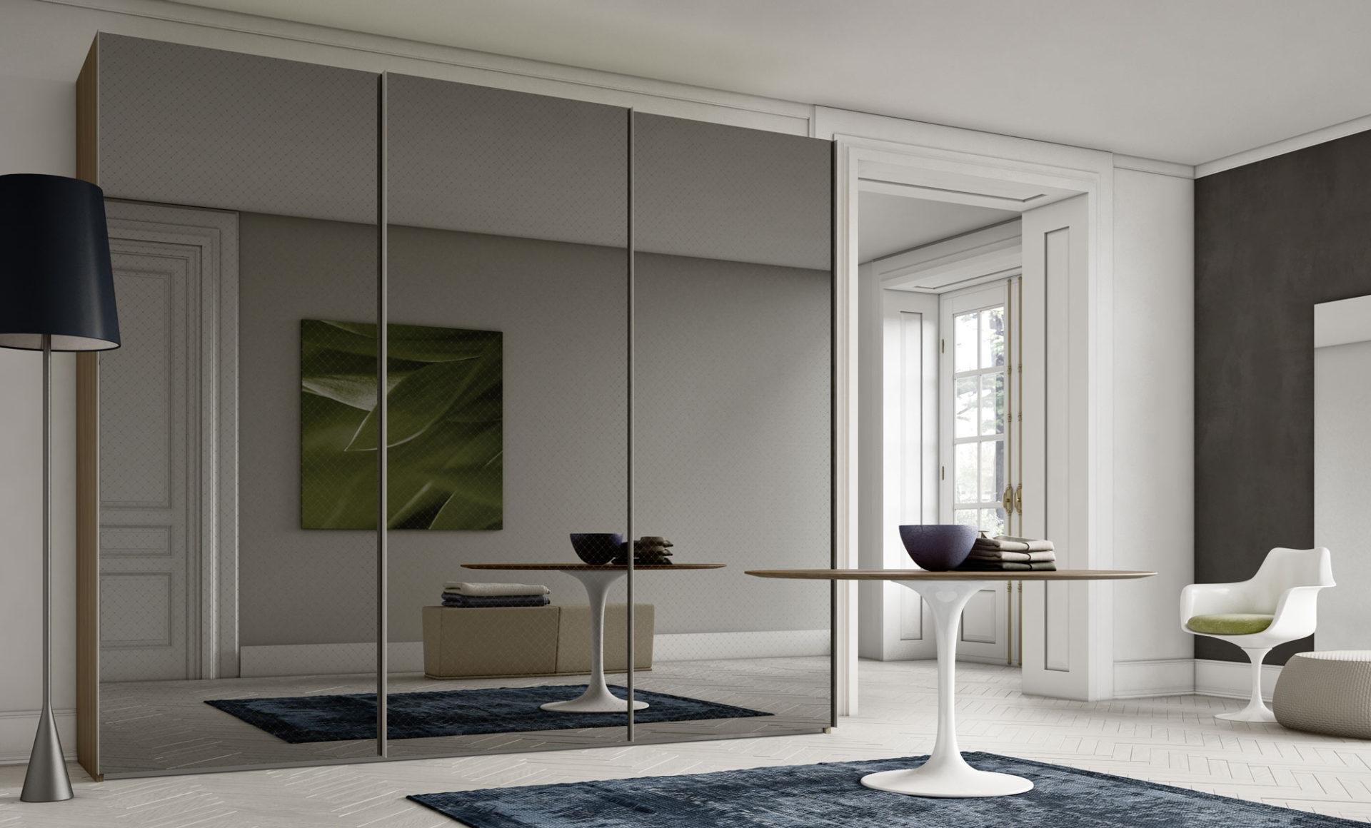 Armadio anta scorrevole solaris orme - Ikea armadio con specchio ...