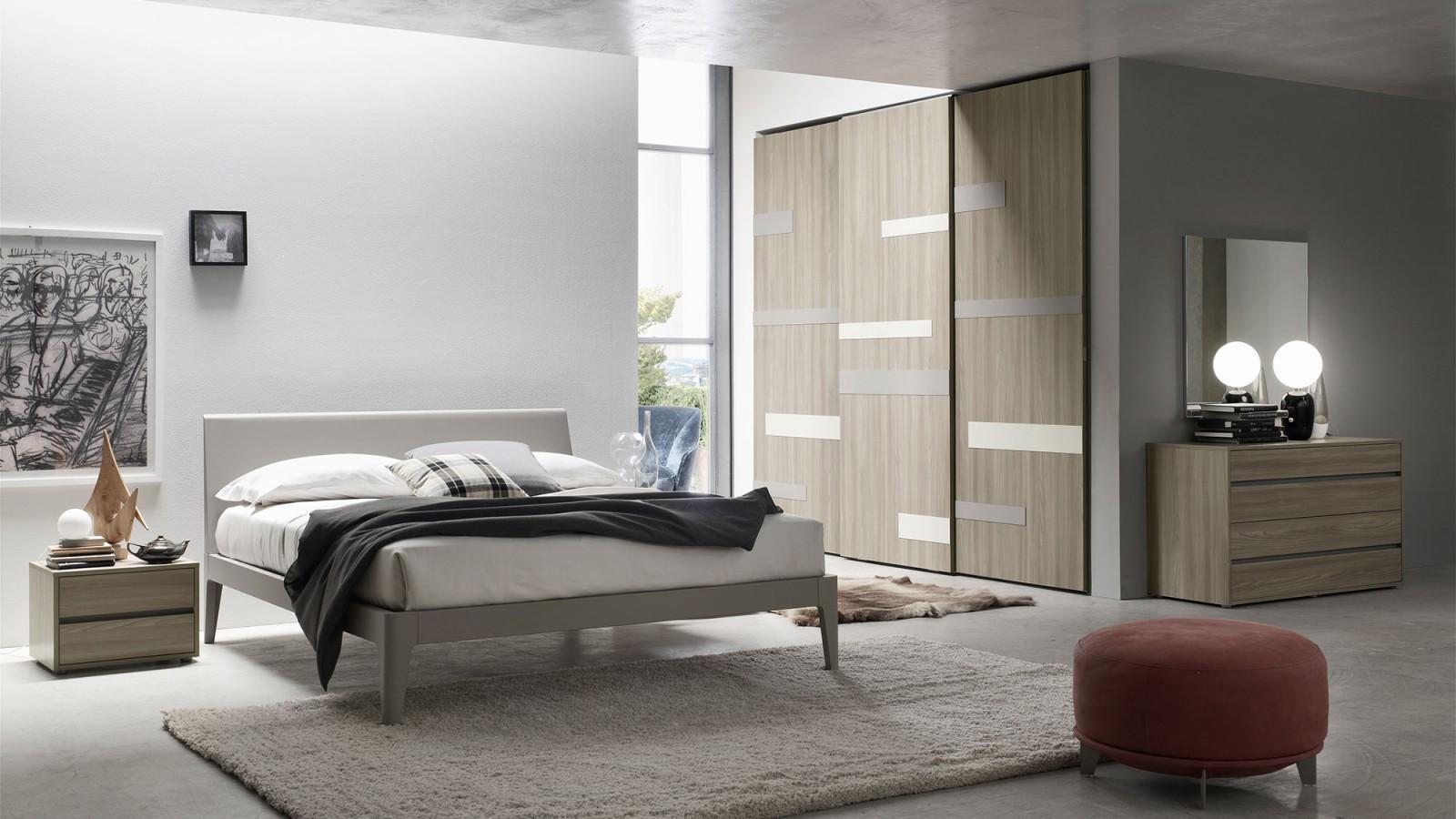 Letto penelope letti in legno programma notte orme for Camere da letto hotel moderni