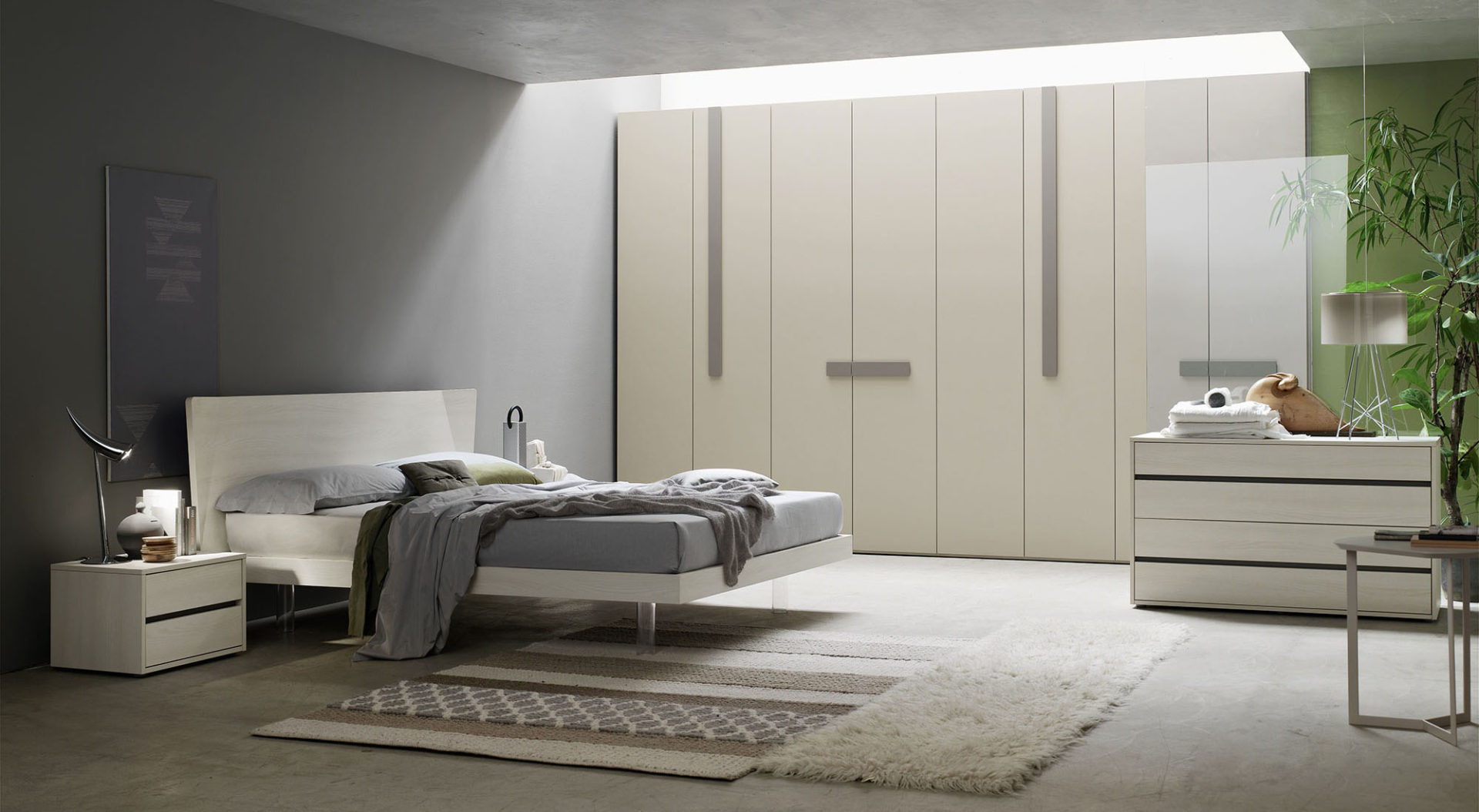 Letto skadi letti in legno programma notte orme for Arredamento camera da letto design