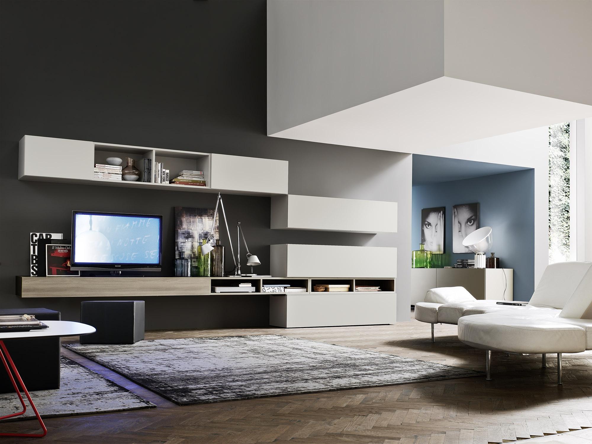 Comp modulo 4 orme for Arredamento soggiorno design