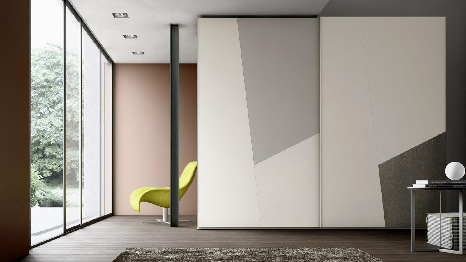 Arredamento zona giorno e zona notte di design orme - Armadi design moderno ...