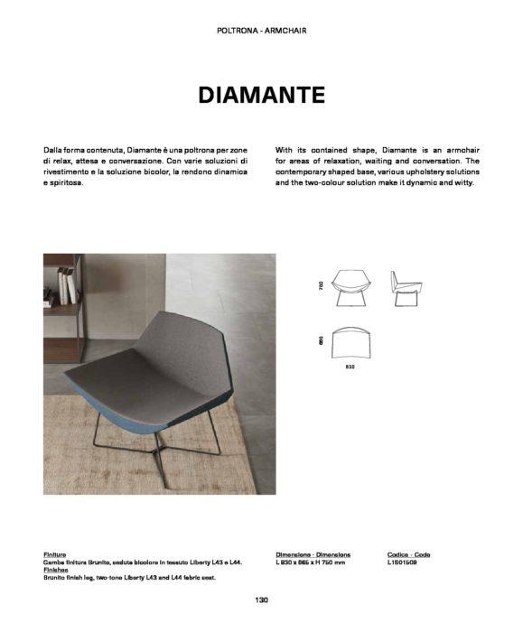 Dimensioni sedie diamante orme orme - Dimensioni sedia ...