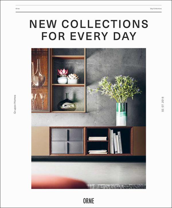 Scopri in anteprima la nuova collezione giorno