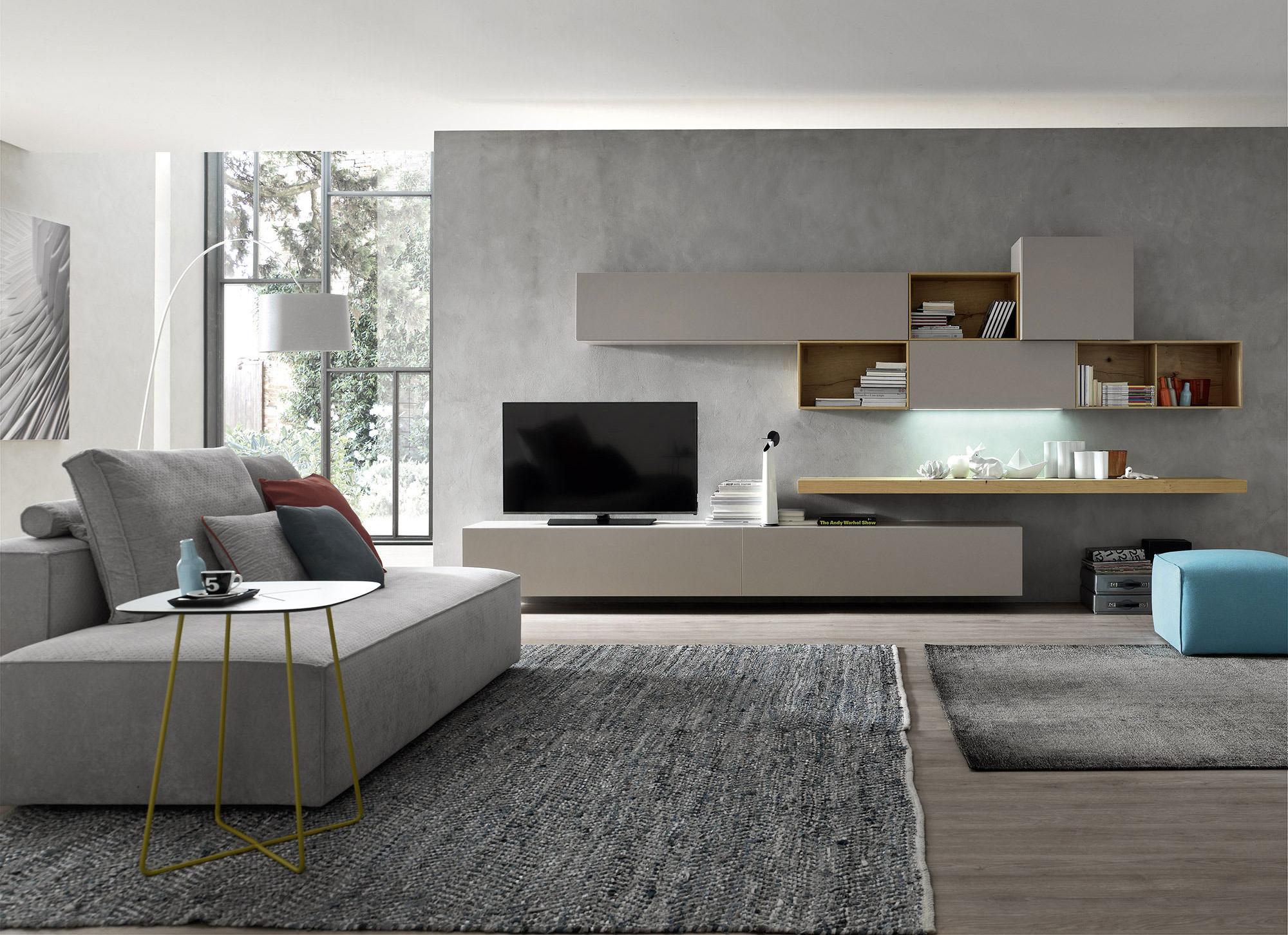 arredamento soggiorno moderno mobili soggiorno programma giorno modulo e logico orme with ...