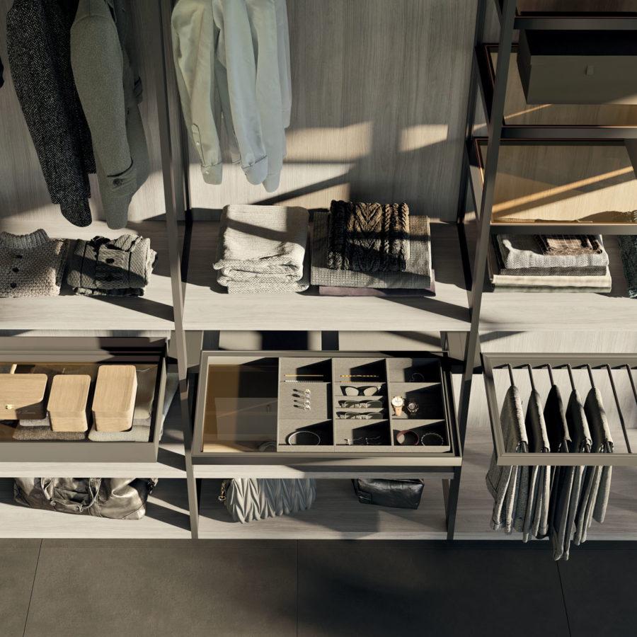 Cabina armadio Skeletro Orme