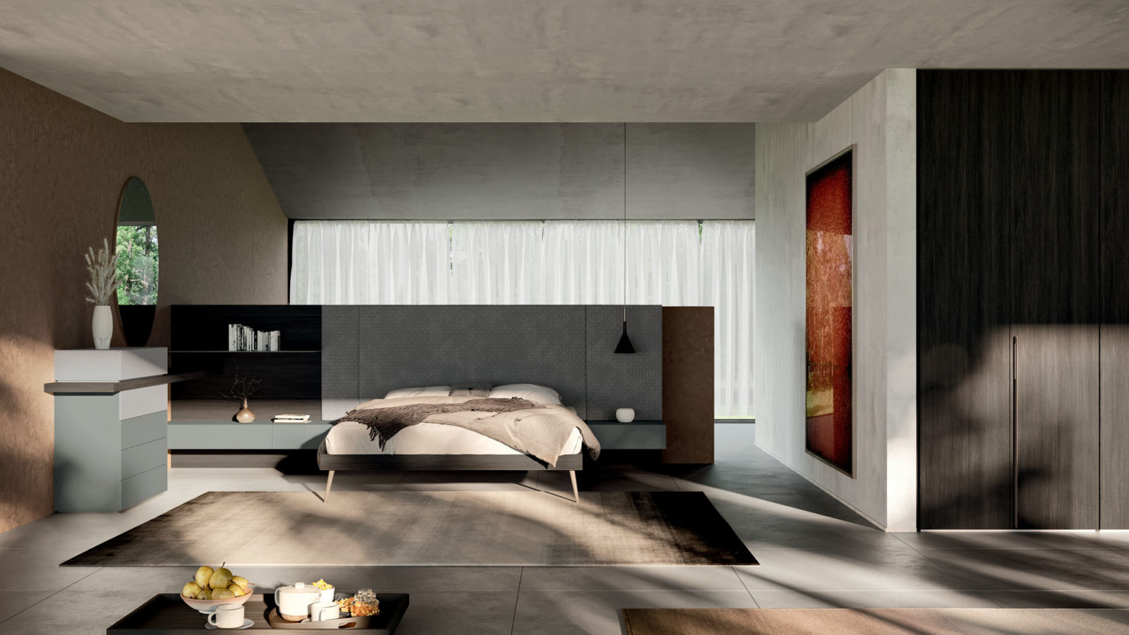 Letto Wall Orme